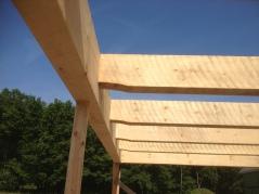 Timberframe detail.