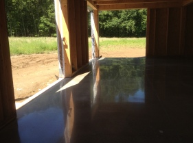 Concrete polished, Day 5