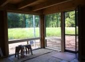 Living room glass.