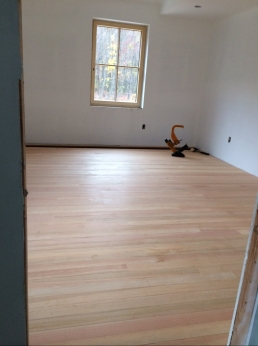Master bedroom flooring